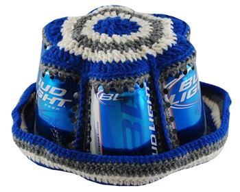 Shop for Crochet beer can hat online - Read Reviews, Compare