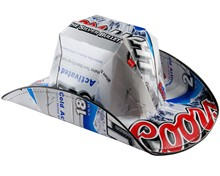 Coors Light Beer Cowboy Hat
