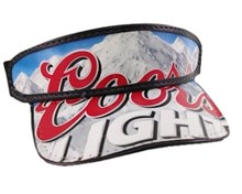 Coors Light Beer Visor