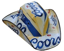 Coors Original Beer Cowboy Hat