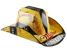 Miller Genuine Draft Beer Cowboy Hat