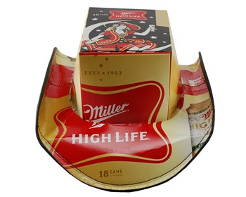 Miller High Life Beer Hat