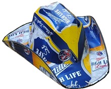 Miller High Life Light Beer Cowboy Hat