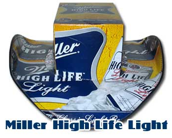 Miller High Life Light Beer Hat